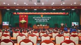 Thái Nguyên: Khai mạc Kỳ họp thứ 12, HĐND tỉnh khóa XIII, nhiệm kỳ 2016-2021
