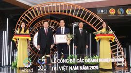 Tập đoàn Xây dựng Hòa Bình ba năm liên tiếp lọt Top 10 Doanh nghiệp bền vững Việt Nam 2020