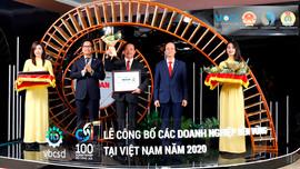 """Vedan Việt Nam duy trì danh hiệu """"Top doanh nghiệp phát triển bền vững năm 2020"""""""