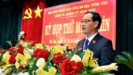 Khai mạc Kỳ họp thứ 19 HĐND tỉnh Bà Rịa - Vũng Tàu