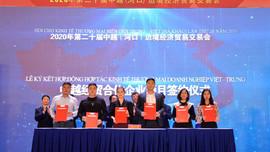 Lào Cai: Gần 800 triệu USD được ký kết tại Hội chợ biên giới Việt - Trung 2020