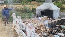 Cao Bằng: Lò đốt rác gần dòng suối gây ô nhiễm môi trường