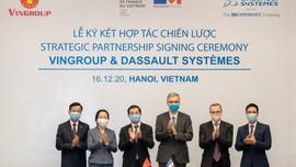 Vingroup ký kết hợp tác chiến lược với Dassault Systèmes thúc đẩy chuyển đổi số