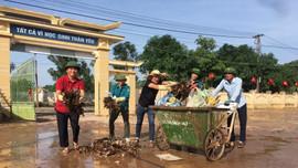 Hà Tĩnh: Ngành  TN&MT cùng người dân phục hồi môi trường nơi tâm lũ