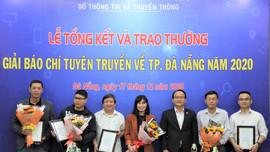Báo TN&MT đoạt giải ba giải Báo chí tuyên truyền về TP Đà Nẵng năm 2020