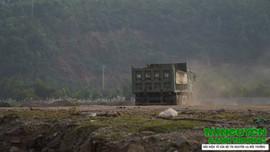 Công ty Công Thanh khai thác cát trái phép tại Bến cảng số 6: Dự án chưa có ĐTM