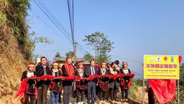 UNDP hỗ trợ Hà Giang hơn 26km đường giao thông liên thôn, xã