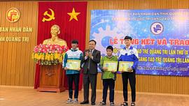 Quảng Trị trao giải Cuộc thi Sáng tạo trẻ 2020