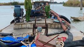 Quảng Ninh: Khởi tố vụ án khai thác trái phép hơn 1.000 m3 cát