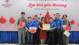 EVNGENCO 3 tổ chức hiến máu hưởng ứng Tuần lễ hồng EVN lần VI - 2020