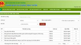 Tổng cục Quản lý đất đai: Bước đầu cung cấp dịch vụ công trực tuyến