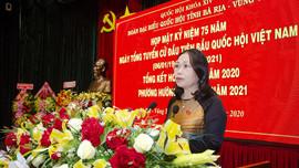 Đoàn Đại biểu Quốc hội tỉnh Bà Rịa - Vũng Tàu: Tổng kết công tác năm 2020 và triển khai nhiệm vụ năm 2021