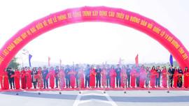Khánh thành cầu Triều kết nối 2 tỉnh Quảng Ninh và Hải Dương