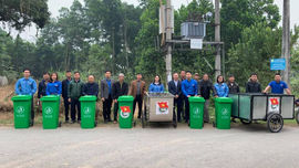 Yên Bái: Triển khai mô hình thu gom, vận chuyển và xử lý chất thải rắn
