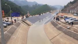 Khắc phục xong sự cố đứt gãy kênh Bắc sông Chu-Nam sông Mã