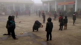 Lai Châu: Trên 130 trường cho học sinh nghỉ học do rét đậm, rét hại