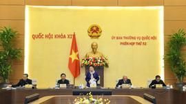 Thường vụ Quốc hội khai mạc Phiên họp thứ 52