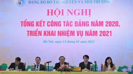 Đảng ủy Bộ TN&MT triển khai nhiệm vụ năm 2021