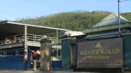 Bình Định: Công ty Nhật Nam Hưng vi phạm môi trường bị xử phạt 210 triệu đồng