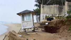 Bờ biển Đà Nẵng vẫn tương đối ổn định