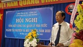 Sở TN&MT tỉnh Bà Rịa - Vũng Tàu triển khai nhiệm vụ năm 2021