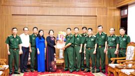 Lãnh đạo tỉnh Bà Rịa - Vũng Tàu thăm và chúc Tết Bộ đội Biên phòng