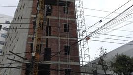 Đà Nẵng: Công trình xây dựng mở rộng Bệnh viện Gia đình gây sụt lún nhà dân