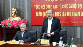 Chú trọng thực hiện Quyết tâm thư của Đại hội các DTTS Việt Nam lần thứ II năm 2020