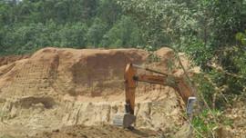 Bình Định: Khai thác đất trái phép, Công ty Thanh Huy bị xử phạt hơn 2 tỷ đồng