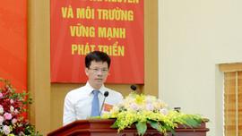 Ông Bùi Duy Cường là tân Giám đốc Sở Tài nguyên và Môi trường TP Hà Nội