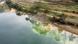 Bảo Lạc (Cao Bằng): Tái diễn hoạt động khai thác cát trái phép