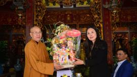 Lãnh đạo Ban Tôn giáo Chính phủ chúc Tết chức sắc Phật giáo Hải Phòng