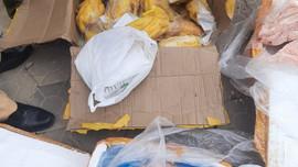 Hà Tĩnh: Phát hiện xe ô tô vận chuyển trên 5 tấn thực phẩm không rõ nguồn gốc