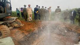 Hà Tĩnh: Tiêu hủy số lượng lớn sản phẩm động vật không đảm bảo chất lượng
