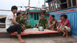 Nghệ An: Tăng cường công tác quản lý tàu cá trên biển