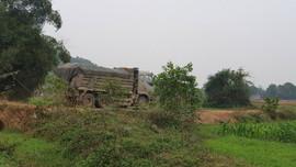 Nông Cống (Thanh Hóa): Dân khổ vì xe chở đất gây ô nhiễm môi trường