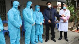 Quế Võ – Bắc Ninh: xử phạt 73 trường hợp không đeo khẩu trang nơi công cộng