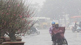 Bắc Bộ và Bắc Trung Bộ có thể mưa to trong những ngày giáp Tết nguyên đán