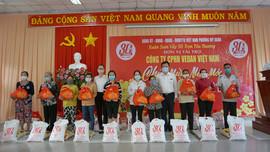 Vedan Việt Nam trao tặng 1.000 phần quà Tết cho người dân có hoàn cảnh khó khăn