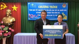 Đồng Nai: Nova Group đồng hành cùng hộ nghèo, nạn nhân chất độc da cam