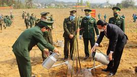 Quảng Ninh: Lễ dâng hương và phát động Tết trồng cây đầu Xuân Tân Sửu 2021