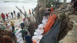Quảng Ngãi: Đầu tư 100 tỷ đồng xây kè chống sạt lở ở Bình Hải