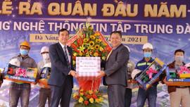 Ra quân đầu năm Tân Sửu tại Khu CNTT tập trung Đà Nẵng