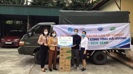 FrieslandCampina Việt Nam tiếp sức Hải Dương với gần 40.000 sản phẩm sữa yêu thương