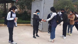 Học sinh, sinh viên Sơn La đi học trở lại từ ngày 24/2