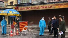 Kiểm điểm tập thể lãnh đạo huyện Cẩm Giàng, Kim Thành trong chống dịch Covid – 19