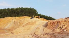 Huế: Cấp phép thăm dò khoáng sản đất san lấp phục vụ các dự án lớn