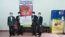 Bảo hiểm PVI ủng hộ tỉnh Hải Dương phòng chống dịch Covid-19