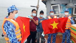 Bộ Tư lệnh Vùng Cảnh sát biển 1 tăng cường công tác phòng, chống dịch bệnh Covid-19 trên hướng biển