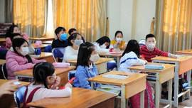 Hà Nội: Học sinh trở lại trường học từ ngày 2/3/2021